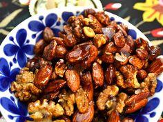 Kanderade nötter