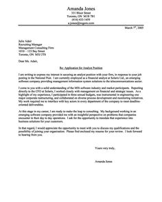 Cover Letter Example for Auditor | Cover Letter Tips & Examples ...