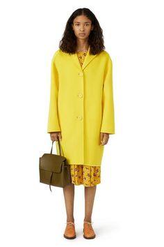 MANSUR GAVRIEL - Wool Cashmere Classic Coat - Sun