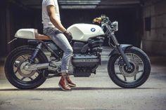 RocketGarage Cafe Racer: BMW Kappa by Soiatti Moto Classiche Bmw Motorcycles, Vintage Motorcycles, Custom Motorcycles, Custom Bikes, Bmw Motorbikes, K100 Bmw, R80, Moto Cafe, Cafe Bike