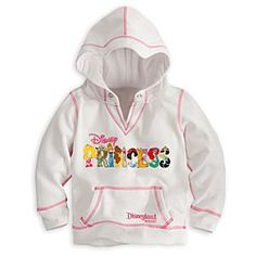 I WANT THIS!!! Disney Princess Hoodie for Girls - Disneyland | Disney StoreDisney Princess Hoodie for Girls - Disneyland - Wear the warmth of The Happiest Place on Earth throughout the season with our stylish pullover Disney Princess Hoodie featuring elegant embroidered lettering fashioned after Disney's famous fairytale heroines.