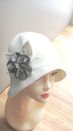 Cloche SEWING HAT PATTERNmedium  Roaring 20s flapper by McHats, $15.95