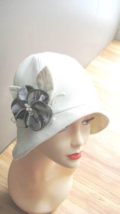 Patron de couture Roaring 20 s flapper Cloche chapeau par McHats