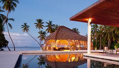 Take a look at your own private island at the Park Hyatt, Maldives! deluxe but eco-friendly contemporary villas are built over the water, so you can dangle your toes in the Indian Ocean, Park Hyatt Maldives Gaafu Alifu Atoll, Maldives Maldives Destinations, Maldives Luxury Resorts, Maldives Resort, Beach Resorts, Hotels And Resorts, Travel Destinations, Great Hotel, Beautiful Places In The World, Amazing Places