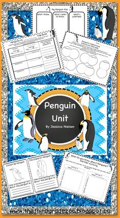 $This penguin unit contains 26 highly engaging and interactive activities including: sequencing, writing, and acting out the story of the emperor penguin, a variety of cutting and pasting activities, and a end of unit interactive research poster. The learning outcomes of this unit are: To understand the life cycle of a penguin. To understand penguin adaptations. To label the parts of the penguin. To gain an understanding about the various threats to penguins and their habitats...