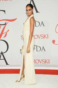 celebrities invitados alfombra roja cfda fashion awards 2015