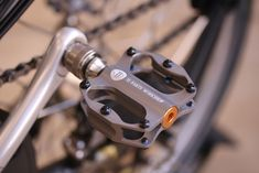 Titanium Mini Pedals – Bike48 – Brompton Ti Custom Parts