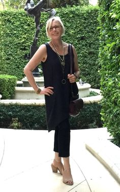 outfit for warm evenings | une femme d'un certain âge - Style, Lifestyle, Travel for Women Over 50
