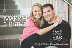 "Love the ""Married Christmas!"""