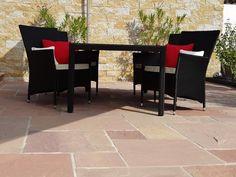 Terrassen-Trend 2015: Naturstein-Platten sind ein optimaler Terrassenbelag