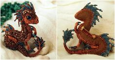 Beaded Dragon Brooches That Are Fit For The Mother Of Dragons