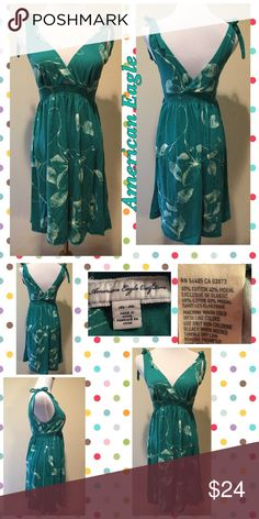 ❌FINAL PRICE❌ Cute American Eagle Dress Cute Little American Eagle Dress size medium, see pics for more details American Eagle Outfitters Dresses