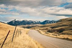 Country Road to Snowy Mountains Landscape Photograph, Western Mountains Photography on Etsy, $28.49 AUD