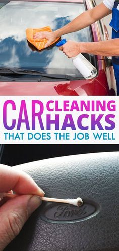 We have compiled some of the car cleaning tricks you may use to reduce your work load. Try them now!