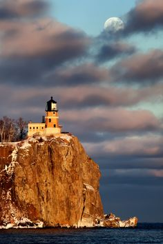 Split Rock Lighthouse off the North Shore of Lake Superior