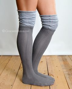 Slouch Top Boot Sock