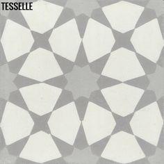 """Starre Strata 8"""" Square Cement Tile"""
