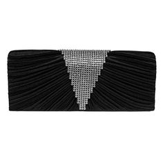 Fashion Road Evening Clutch, Womens Luxury Pleatd Rhinest... ...amazon.com