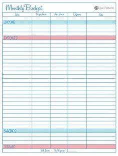 8 best budget printables images budget binder budget planner