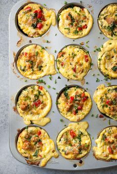 ... lasagna muffins, and of course these individual frittata muffins. Yes