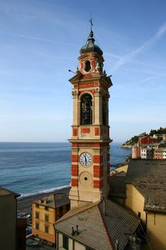 Church of Santa Margherita - Sori, Liguria, Italy