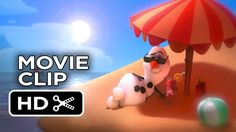 Frozen Movie CLIP - Olaf's Music Video (2013) - Disney - With Robert Lopez composing it's a no brainer Josh Gad is Olaf :D