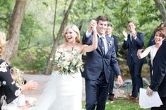 Wedding Photography Inspiration : Just married photo! So cute. Click to see all of the rest of the blush and navy