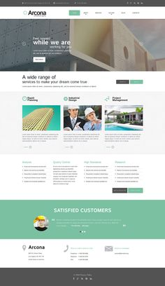 Architecture #Responsive #WordPress One Page #Parallax Theme #51817