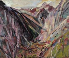This exhibition brings together a selection of Bomberg's landscape works to present an overview of the sense of place that he portrayed in these paintings. Landscape Artwork, Abstract Landscape, David Bomberg, Sense Of Place, Paintings I Love, Beautiful Paintings, Art Uk, Art For Art Sake, Art Sketchbook