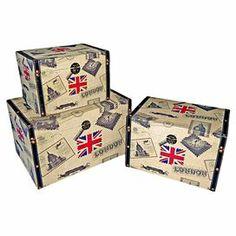 3-Piece Commonwealth Storage Box Set