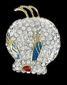 Adorable Tweety Bird Brooch, Looking Out For Sylvester!