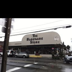 The Hardware Store restaurant on Vashon Island.... Worth the ferry ride.