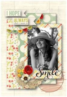 I Hope - Sinayda  Credits:  Remember to Smile - Sweet Shoppe Designs by Kristin Cronin-Barrow