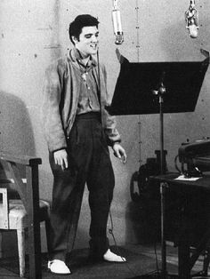 May 8th 1957 MGM Soundstage , Hollywood, California MGM Producer : Jeffrey Alexander Engineer : Fred Mulculpin  Elvis put's his vocal onto the Instrumental track of 'Baby I Don't Care'. When listening to the vocal track only,i.e. right ear/speaker it's possible to hear Elvis's shoe's squeakand the guide/scratch vocal track