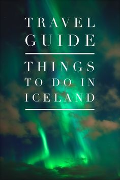 Iceland... the adventure of a life time. Take a look at our in-depth travel guide. Learn about what to do, where to eat and where to stay in this beautiful country.