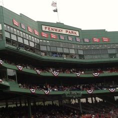 Fenway Park, Boston, Massachusetts.