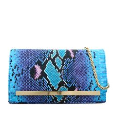 Why not this clutch Diya blue, from Clutches, Handbags, Purses, Blue, Fashion, Moda, Totes, Fashion Styles, Purse