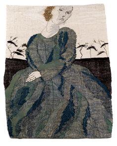 Anio Kajaniemi Fiberarts: Sampling: A Showcase of the Human Form Textile Tapestry, Textile Texture, Art Textile, Tapestry Weaving, Textile Patterns, Tapestries, Embroidery Thread, Machine Embroidery, Textiles