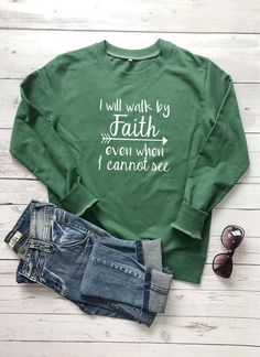 Jesus Is The Reason For The Season Christian Sweatshirt Grey Sweatshirt, Grey Sweater, Graphic Sweatshirt, Graphic Tees, Christian Clothing, Christian Apparel, Christian Hoodies, Pijamas Women, Walk By Faith