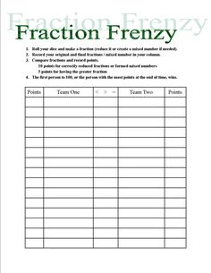 Fraction Frenzy - FREE