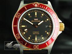 Glycine Combat Automatic Watch, GL 224, PVD, 3863.39-R-TBA9 | Iguana Sell