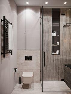 Beautiful master bathroom decor tips. Modern Farmhouse, Rustic Modern, Classic, light and airy bathroom design ideas. Bathroom makeover some ideas and bathroom remodel some ideas. Bathroom Niche, Bathroom Layout, Bathroom Ideas, Tile Layout, Bathroom Organization, Bathroom Fixtures, Paint Bathroom, Bathroom Hacks, Shower Bathroom