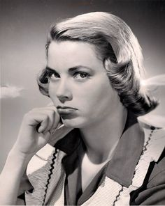 Rare early modeling photo of a pouting Grace Kelly!