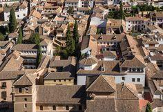 Spain, Granada - patrician house roofs #trivo