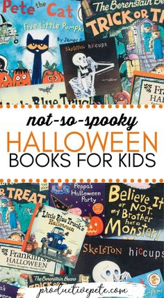 These Halloween Books for Kids are perfect for reading at home or using in the early childhood classroom. They are all illustrated picture books for toddlers, preschoolers, and Kindergarteners. Reading is an easy and fun Halloween activity perfect for those chilly fall nights! #halloween #books #booksforkids #kidsbooks #halloweenbooks #readmore #reading #classroom #teaching Halloween Season, Holidays Halloween, Halloween Themes, Halloween Fun, Kids Holidays, Halloween Books For Kids, Halloween Activities For Kids, Preschool Halloween, Best Children Books