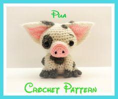 Crochet Pua Pattern From Disney's Moana | Craftsy