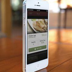 Phone Restaurant App UI - Marrakech by Ismail MESBAH, via Behance
