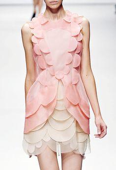 #pink #silk #dress