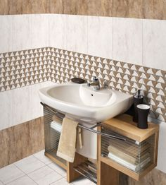 Bathroom Tiles - http://www.orientbell.com/bathroom-tiles.php