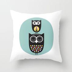 #Owls #cushion by hello olive | Society6